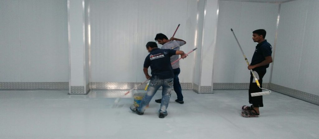 Epoxy flooring Dubai